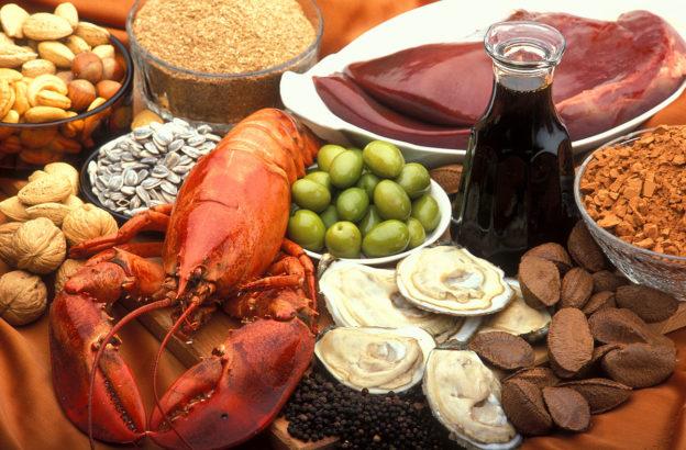 foods rich in copper