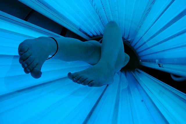 solarium can cause skin cancer