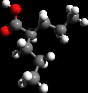 valproic acid 3d structure
