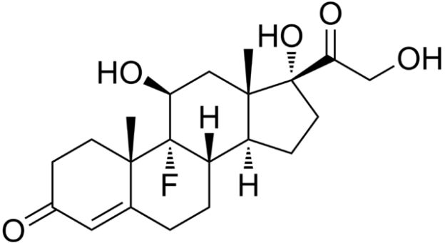 Fludrocortisone_structure