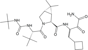 Structure_of_boceprevir - anti-hepatitis agent