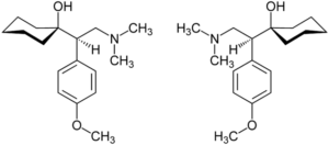 Venlafaxine_Enantiomers_Structural_Formulae