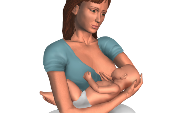 breastfeeding - cross cradle position