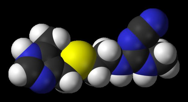 cimetidine 3D