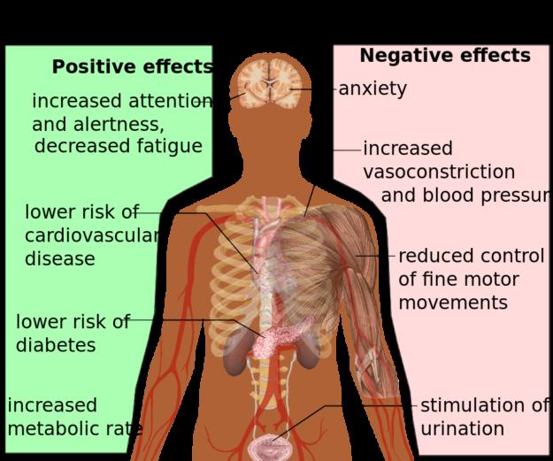 Health effects of caffeine.