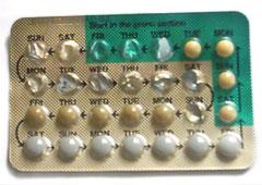 Pill packet open dysfunctional uterine bleeding