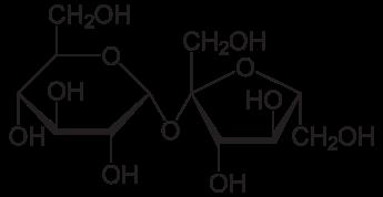 α-D-Glucose (1,2) – β-Fructose