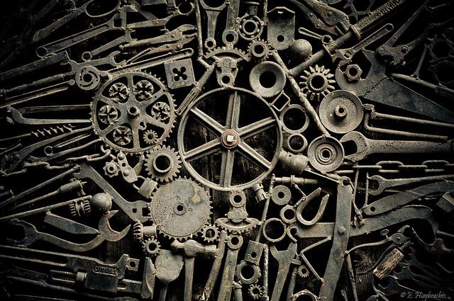 """Bild: """"Old Cogs"""" von Emmanuel Huybrechts. Lizenz: CC BY 2.0"""
