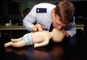reanimation of child