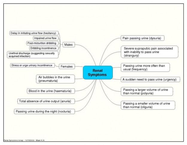 renal symptoms of renal failure