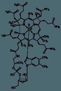 structural formula vitamin b 12